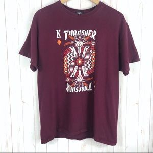 Thrasher King Of Diamonds T-Shirt Size L